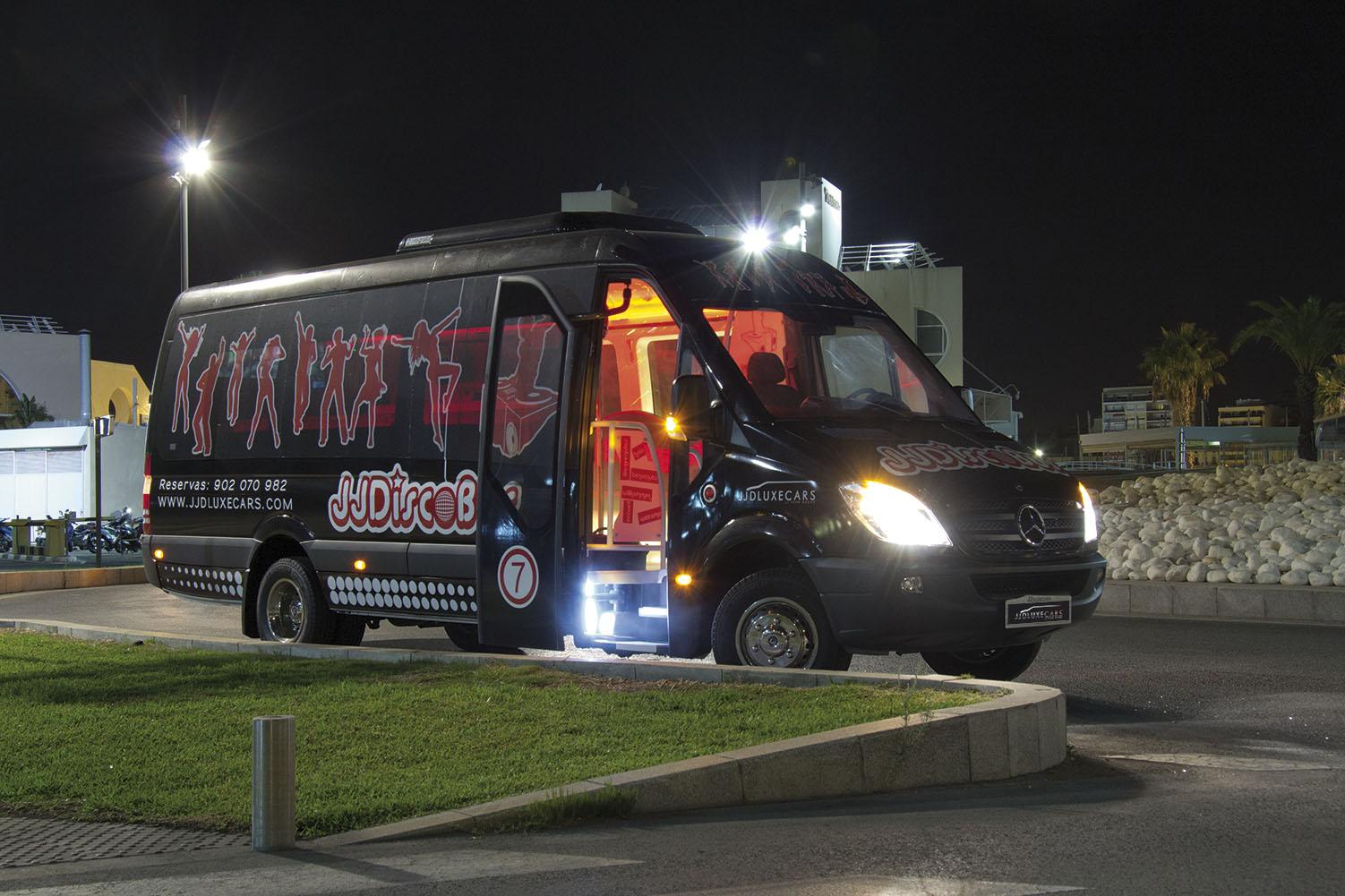 discobus Alicante